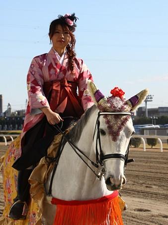 川崎競馬の誘導馬01月開催 和服1Ver-120107-02