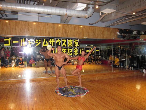 ゴールドジムサウス東京11周年記念パーティー21