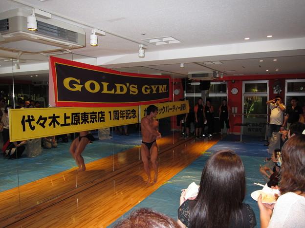 ゴールドジム代々木上原1周年記念09