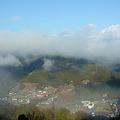 写真: 朝霧の中辺路[2011.2]