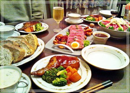 2011 X'mas dinner