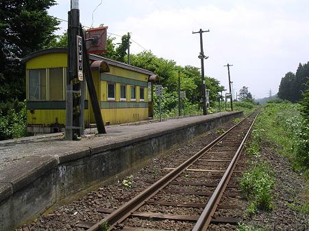 吉堀駅ホーム1