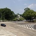 写真: 伏見通の交差点から見た名古屋城_04
