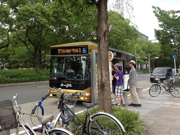 なごや観光ルートバス「メーグル」_10:『名古屋テレビ塔』停留所