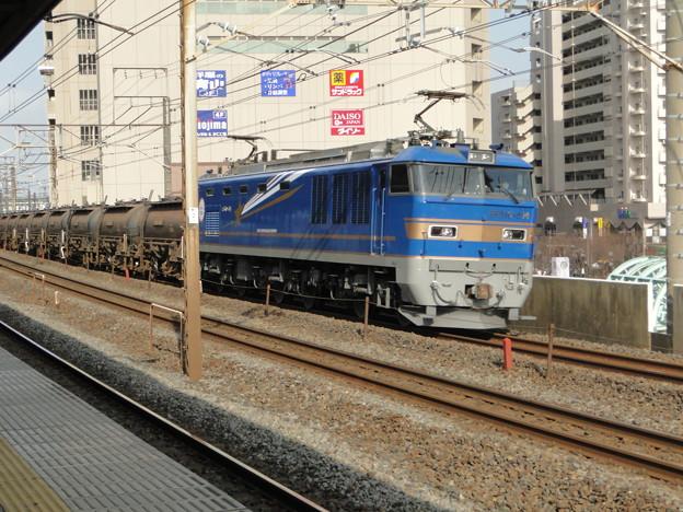 EF510-514 亀有駅で