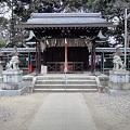 許波多神社(木幡) 拝殿