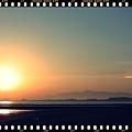 写真: 幻日の朝