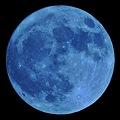 写真: 今宵のお月さん(月齢14.5)