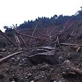 Photos: 高原~洞川線 土砂崩れ