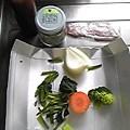 写真: 2012年3月6日のお昼の食材