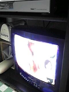未だ健在のブラウン管テレビ