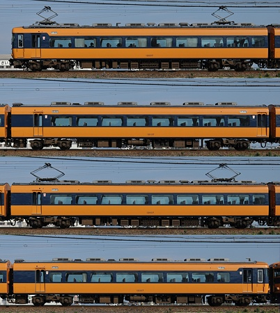 近鉄12200系12237F(NS37)海側側面 2011.11.13
