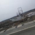 Photos: まだまだ 大曲浜は手付かずなんです。 船も田んぼに上がったままだった