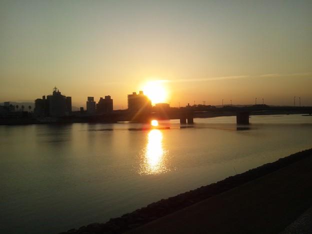 夕方の橘公園1