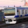 Photos: 常磐線 E531系 流し撮り