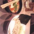 Photos: 撮影のリハーサルの後につけ麺を食べました。美味い!