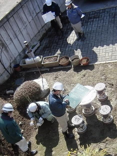 福島市渡利地区の放射線量測定