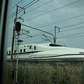 N700通過(阪急の車窓から)