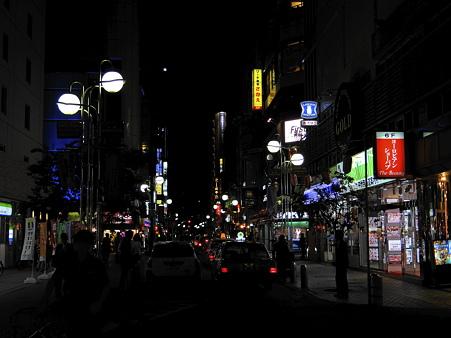 博多中洲の繁華街