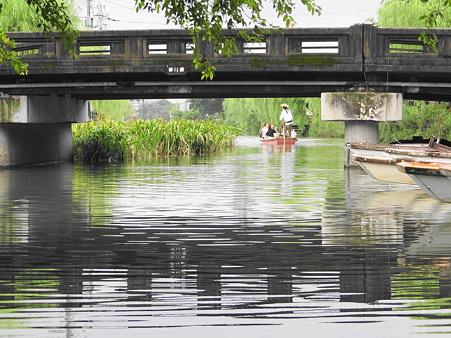 橋と舟下り