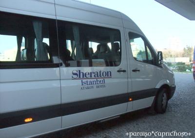 シェラトン・アタキョイのシャトルバス