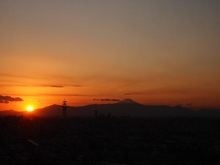 太陽さん、また明日!