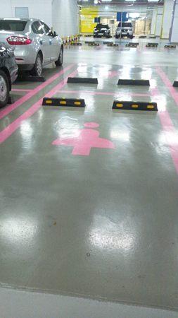女性専用駐車スペース!