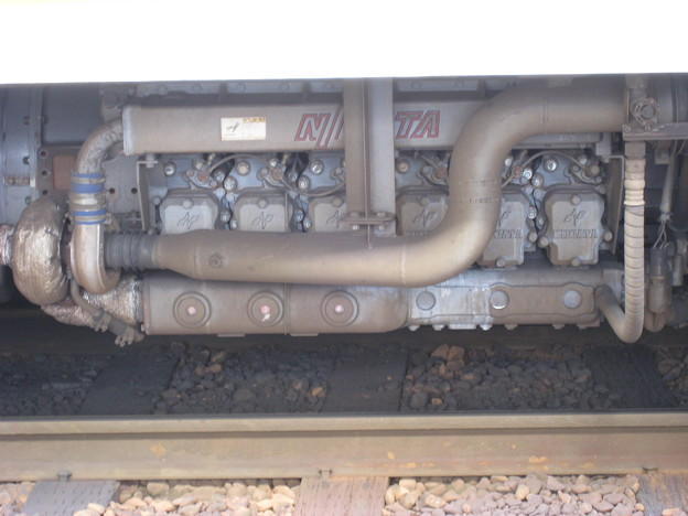 関東鉄道常総線 キハ2100形 DMF13HZ主機関