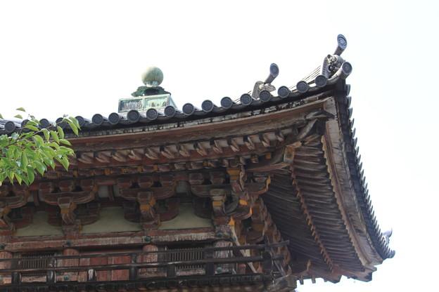 世界遺産の屋根