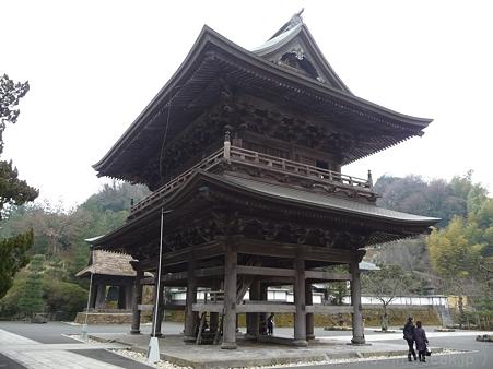 120214-建長寺 三門 (9)