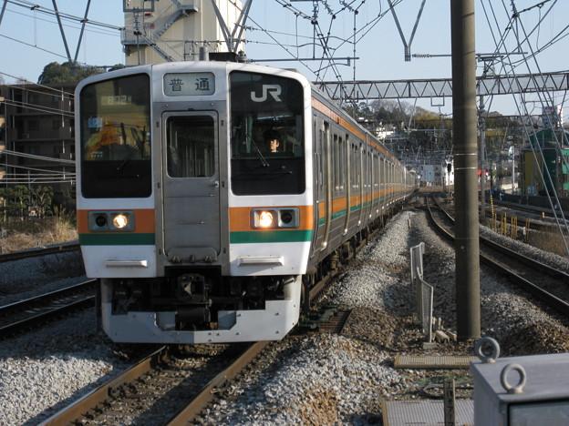 東海道線211系15両編成 in戸塚