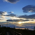Photos: 御来光への道
