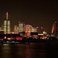 Photos: みなとみらい21全館点灯、2011 ‐大桟橋から‐