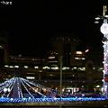 写真: 駅前イルミネーション