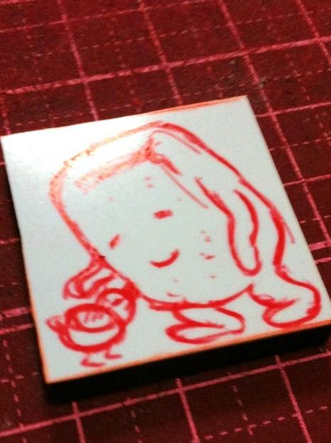 Photos: ぬりかべへのオマージュ