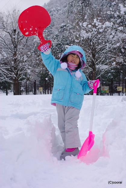 写真: 雪がたくさん♪