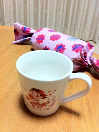 ペコちゃんマグカップ♪