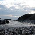 Photos: 海岸線まで