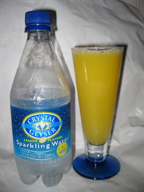 クリスタルガイザースパークリングレモン