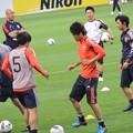 Photos: アップするうっちーと日本代表の皆さん7