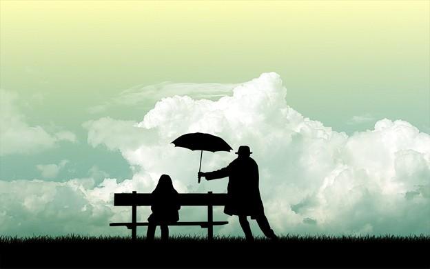 Photos: Umbrella Between Two