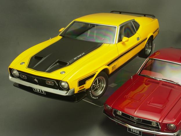 Photos: 1/18ミニカー、フォード・マスタングその1