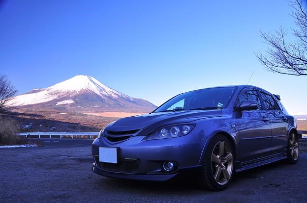 富士山と愛車。。。パノラマ展望台