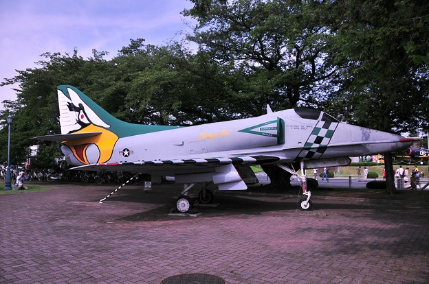 A-4 艦上攻撃機 Chippy-Ho 塗装・・20110703厚木基地開放