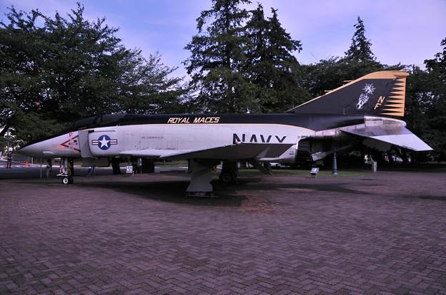 F-4 艦上戦闘機 ROYAL MACES 塗装・・20110703厚木基地開放