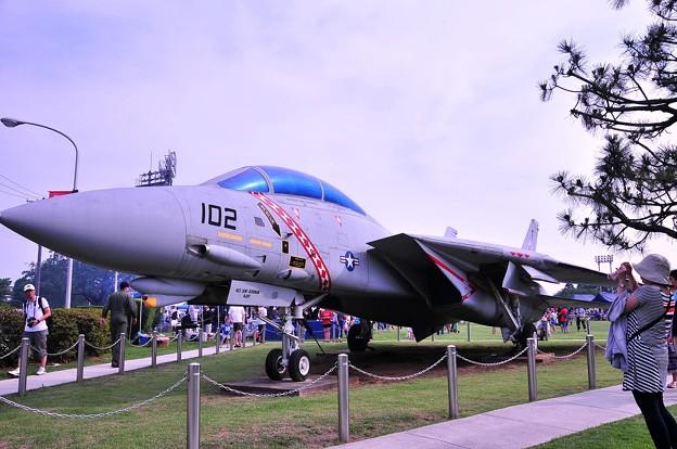 F-14 艦上戦闘機 Diamondbacks 塗装・・20110703厚木基地開放