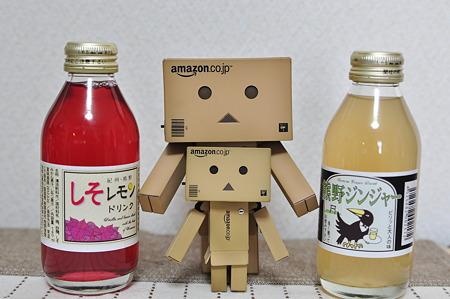 熊野ジンジャー&しそレモン(道の駅・龍游【和歌山】)