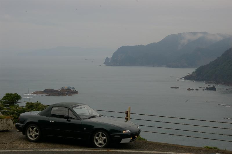 香住から城崎へかけての絶景ロードを楽しむ