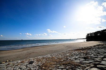 小豆浜はキレイになっていた